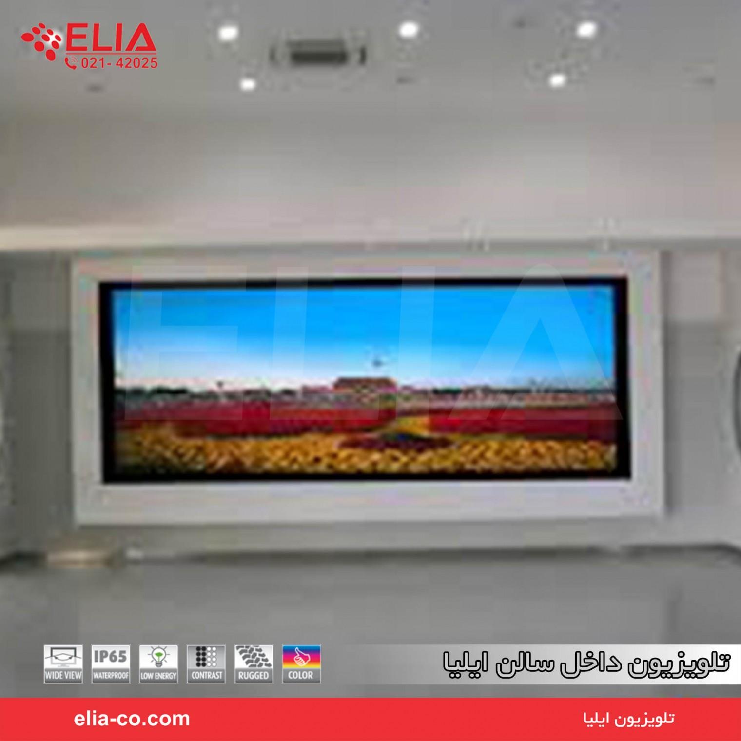تلویزیون داخل سالن ایلیا